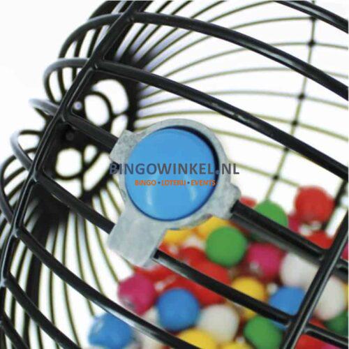 bingomolen zwart bingobal art