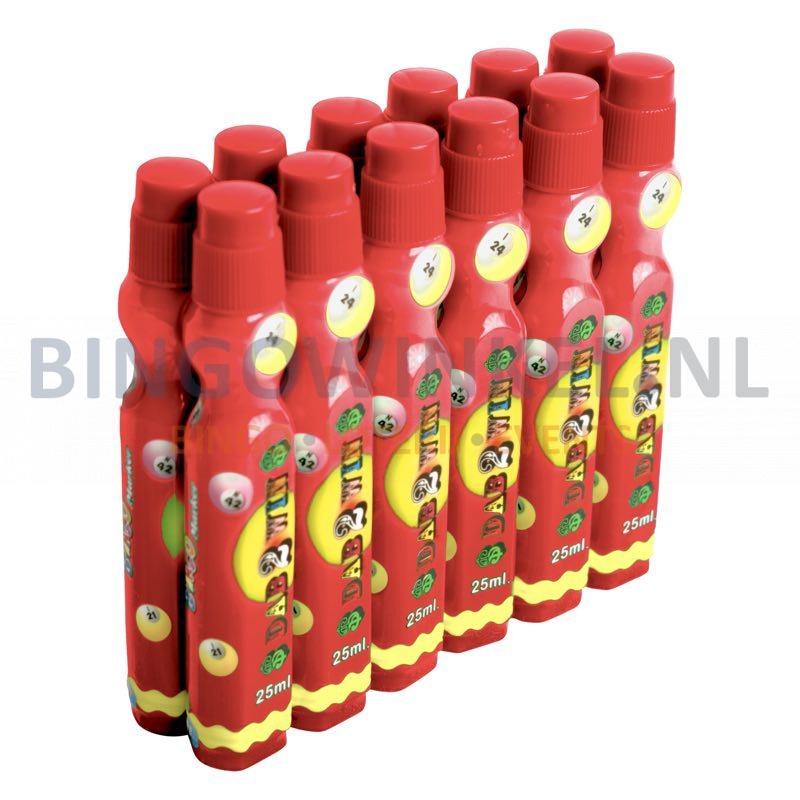 bingodabber lucky 25 ml rood