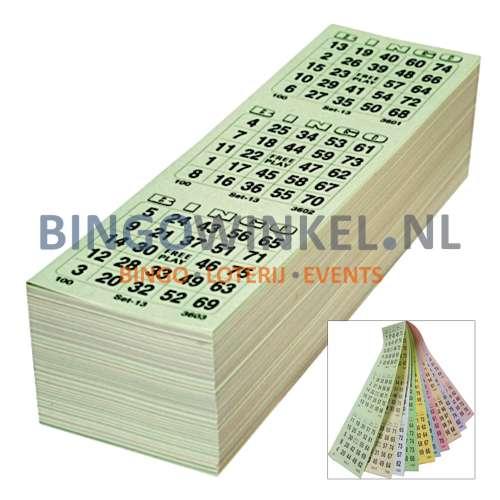 bingokaarten 10 game compleet