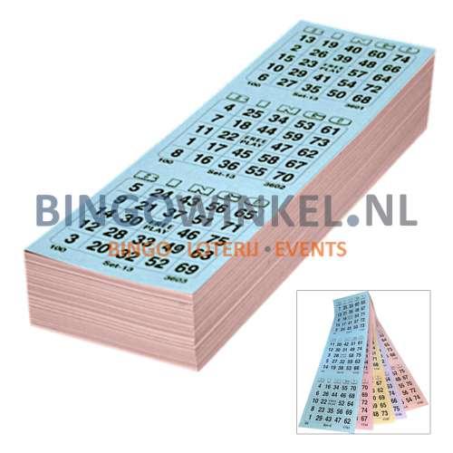 bingokaarten 5 game compleet