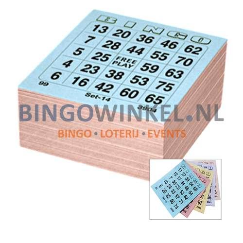 bingokaarten 5 game single compleet