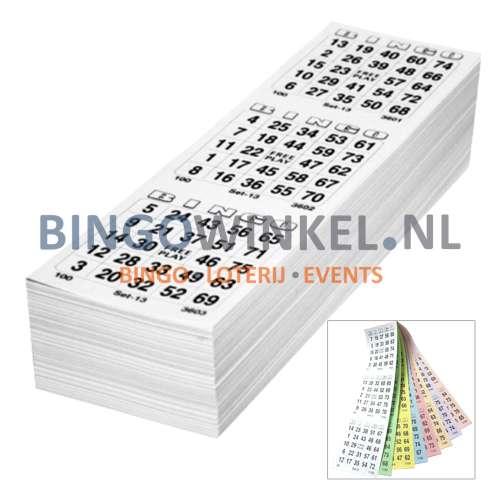 bingokaarten 8 game compleet