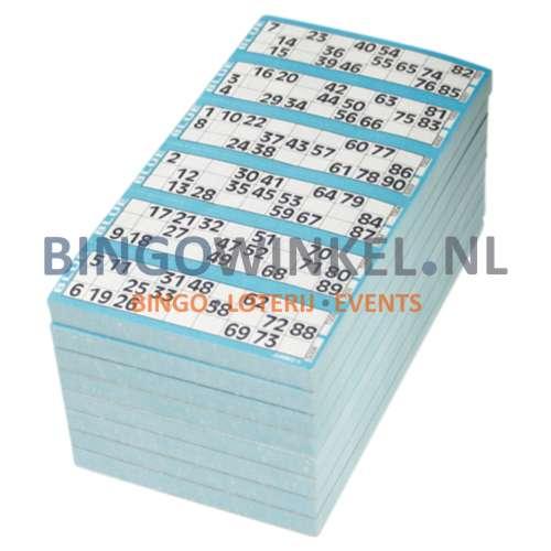 kienkaarten blauw