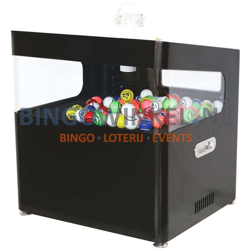 Bingo Blower Machine zwart