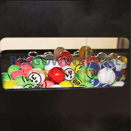 Bingo Blower machine zwart ballen