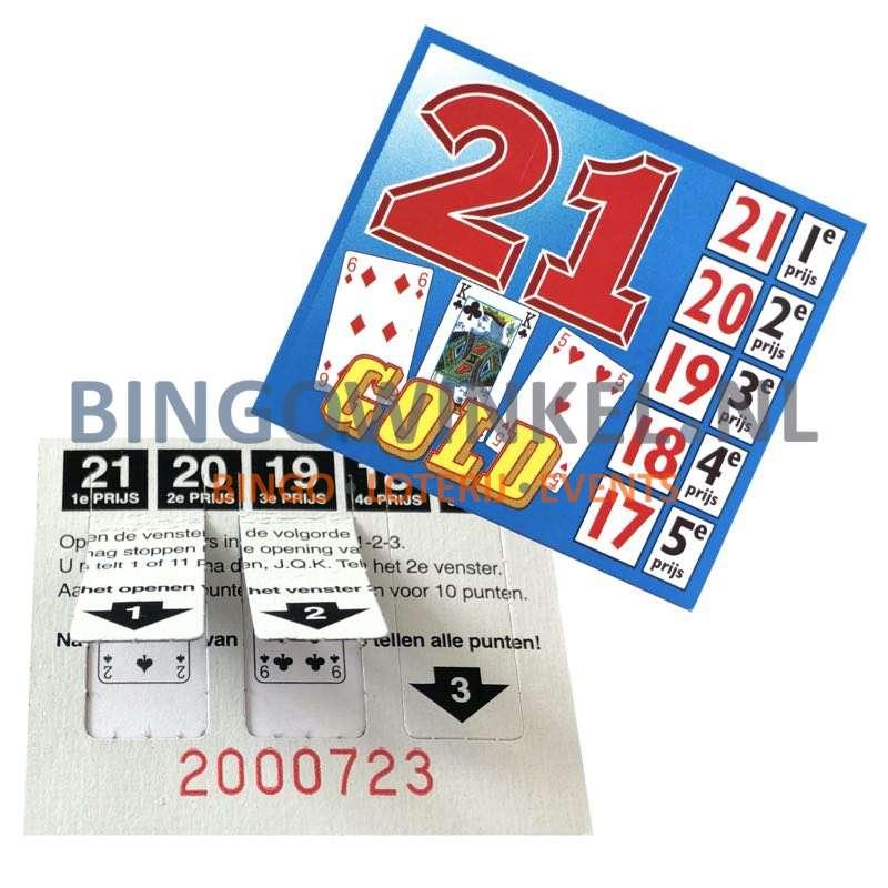 Gold 21 ticket