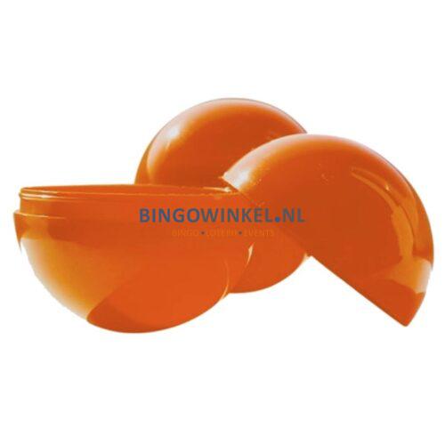 Loterijballen oranje