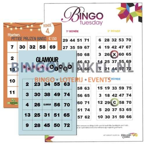 bingokaarten eigen ontwerp inspiratie
