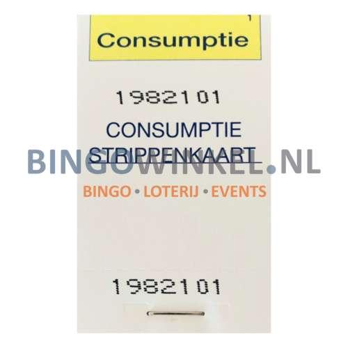 consumptiebon controlenummer