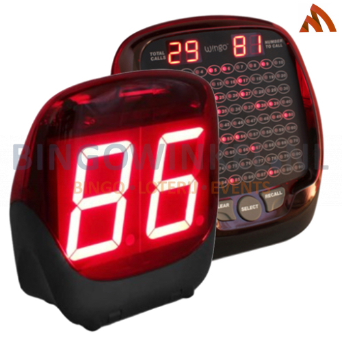 Elektronische bingomachine Wingo 4 RF