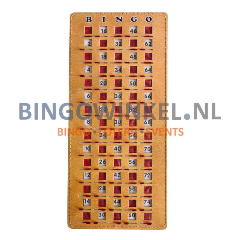 Bingo controle schuifplank