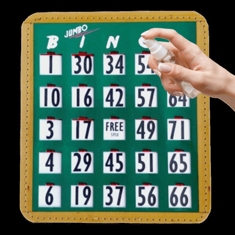bingo schuifplank XL met verstuiver